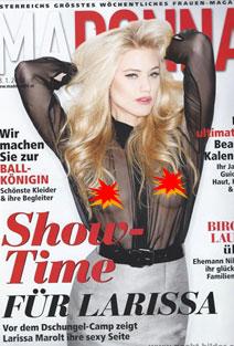 Julia Thurnau nackt sowie andere deutsche Stars